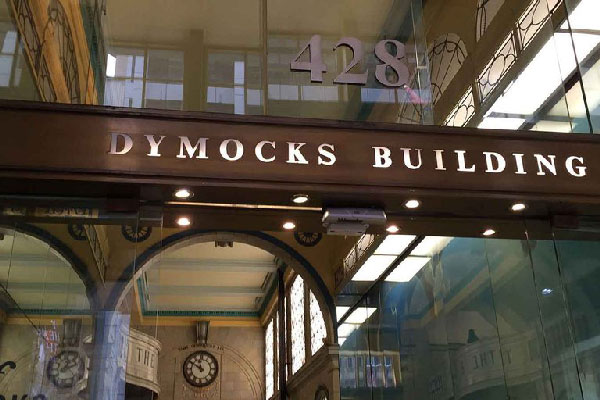 Dymocks Building Front door